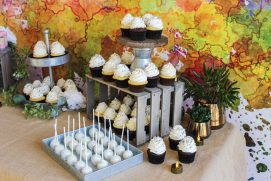 Carolina socials catering cupcakes